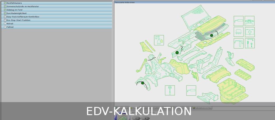 Taflan-EDV-Kalkulation