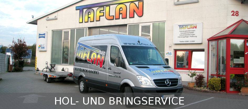 Taflan-Hol-Bringservice